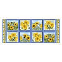 Sunflower Garden Panel