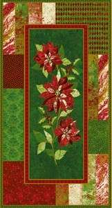 Poinsettia Craft Panel