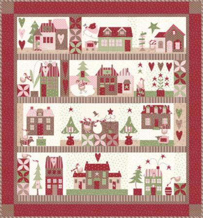 Mistletoe Lane Quilt Kit
