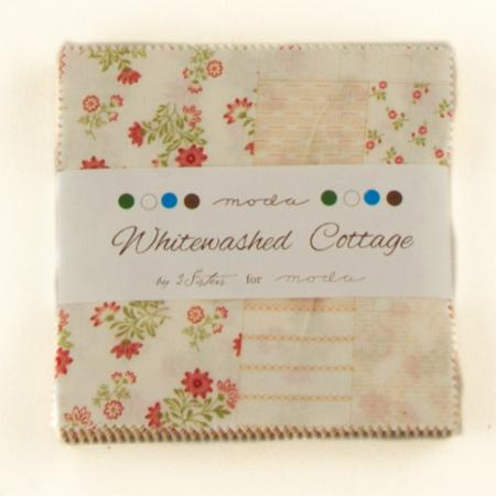 Whitewashed Cottage Charm Pack