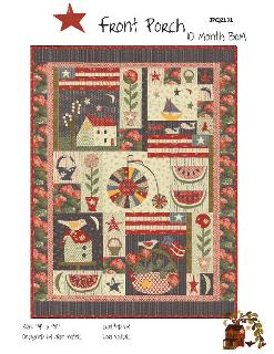 Front Porch BOM quilt pattern*