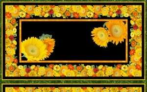 Sunflower Craft Panel