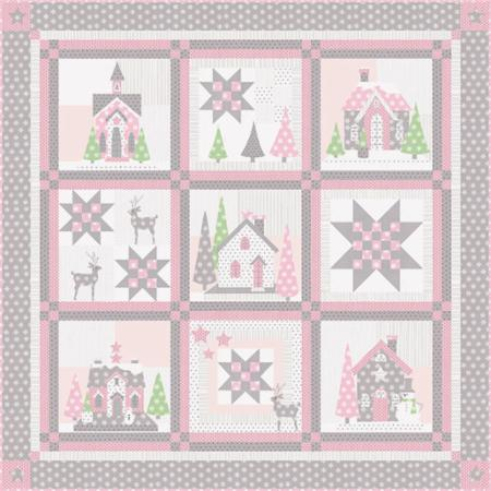 Glitter House Pattern or Kit