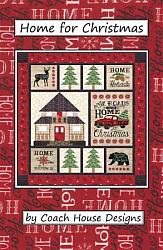 """Home for Christmas"" Holiday Lodge Quilt"