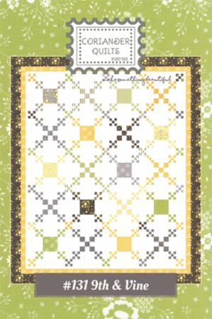 9th & Vine Quilt Kit & Pattern