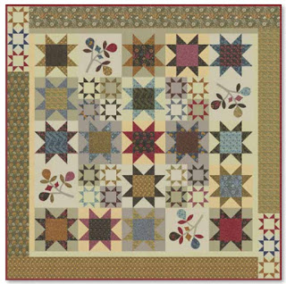 Morris Earthly Paradise Quilt Kit or Pattern