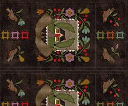 Home Sweet Home Flannel Panel