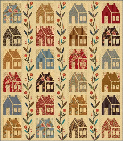Homestead Quilt Pattern