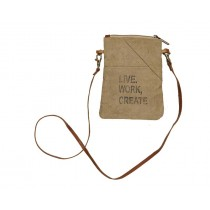 Live Work Create Crossover Bag