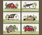 Barn Quilts Panel