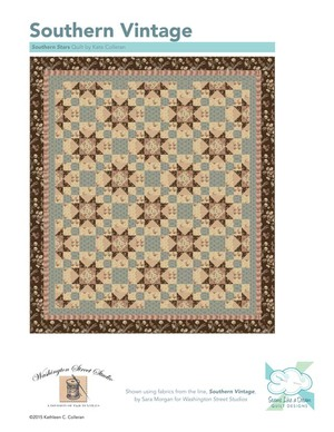 Southern Vintage Reproduction Southern Star Quilt Pattern
