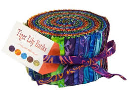 Tiger Lilly Batiks Jelly Roll