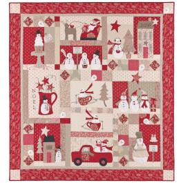 Merry Merry Snowmen Quilt or Quilt Top